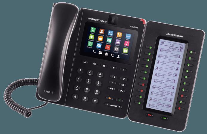 Téléphone de bureau Android