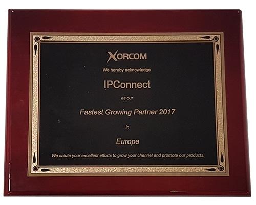 Prix Xorcom partenaire croissance Europe