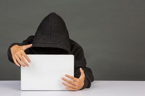 Image de sécurité - pirate informatique
