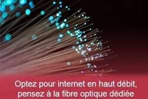 Image de fibre optique - actualité