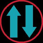 image de données symétriques Fibre optique