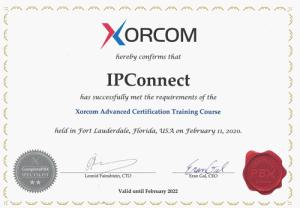 Diplome de certification avancée Xorcom
