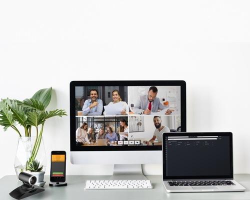Image installation visio pour télétravail