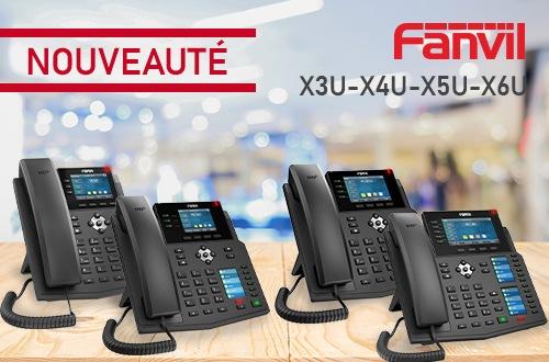 Image gamme Fanvil XU
