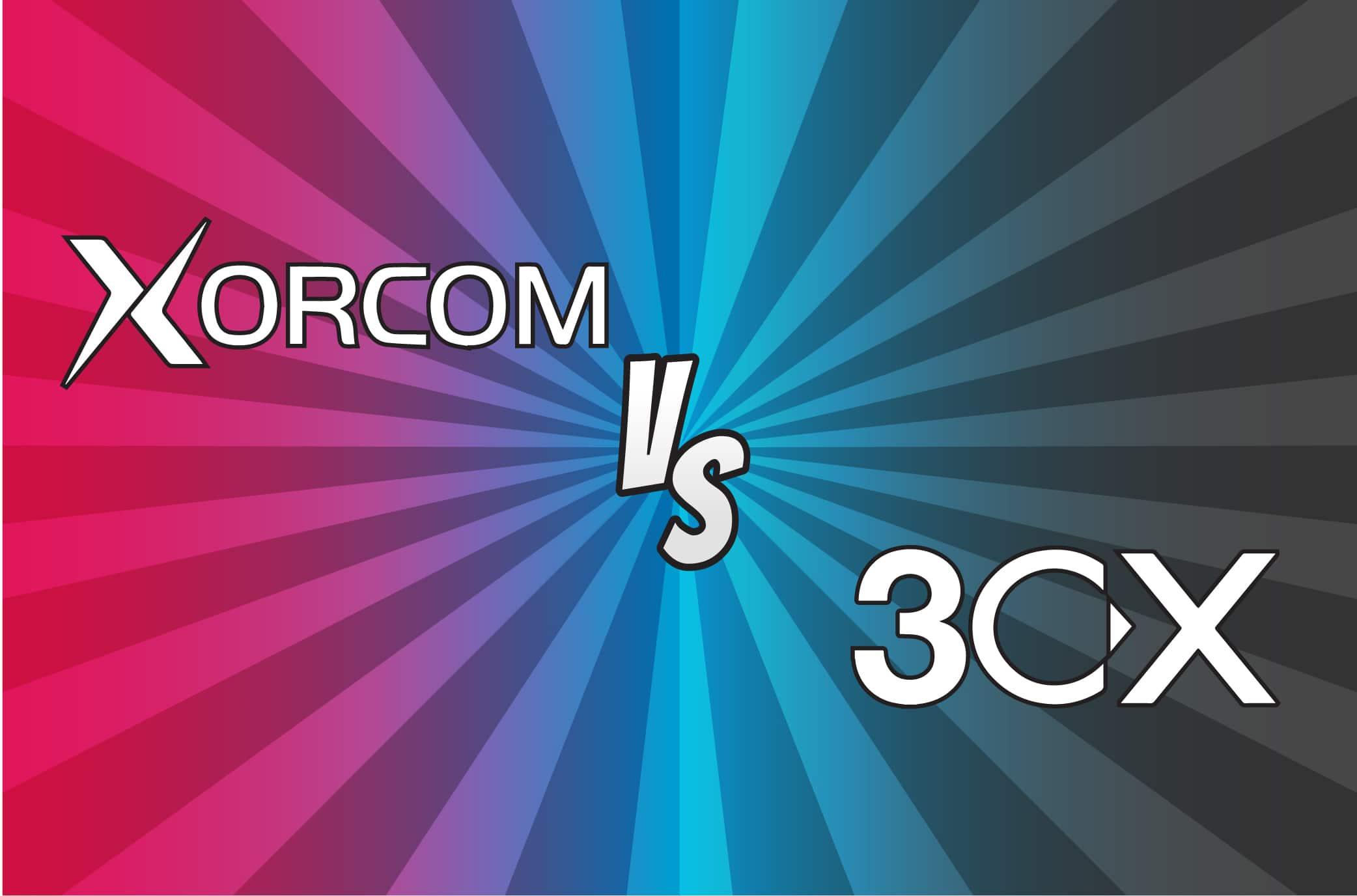 Image de confrontation Xorcom 3CX